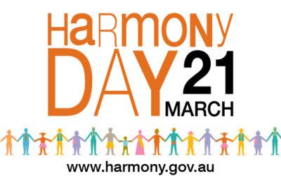 Harmony Day: 21/03/2021