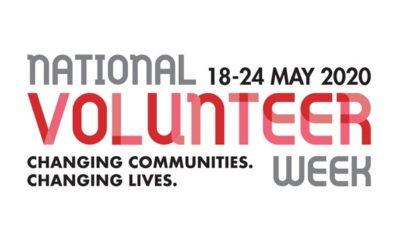 National Volunteer Week: 18-24/05/2020