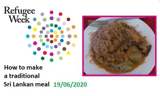 Refugee Week 2020: Sri Lankan meal