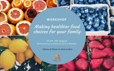 Making Healthier Food Choices for the Family Workshop: 05/08/2020