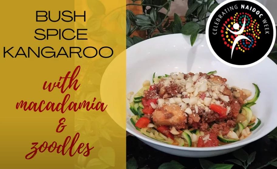 NAIDOC Week 2020: Bush Tucker Cooking with Wave Nutrition. 8-15/11/2020