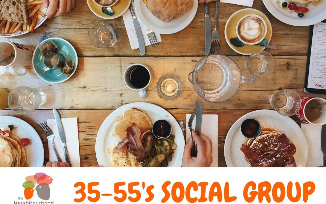 35-55's Social Group in Bathurst: 5th June 2021